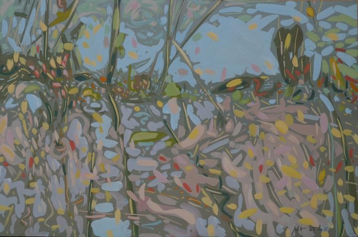 paysage noyé